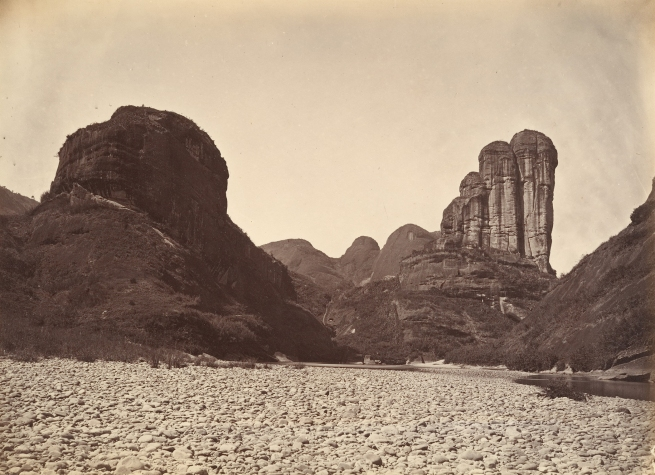 Lai Fong (Chinese, c. 1839-1890) '[Piled Stone Peaks in Mount Wuyi]' c. 1869