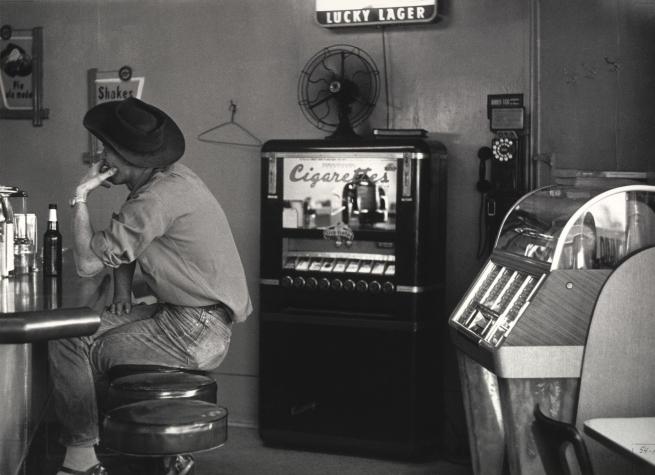 Dorothea Lange (American, 1895-1965) 'Café near Pinole, California' 1956, printed 1965