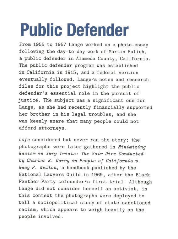 Lange Public Defender