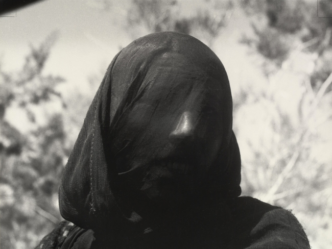 Dorothea Lange (American, 1895-1965) 'Woman in Purdah, Upper Egypt' 1963, printed 1965