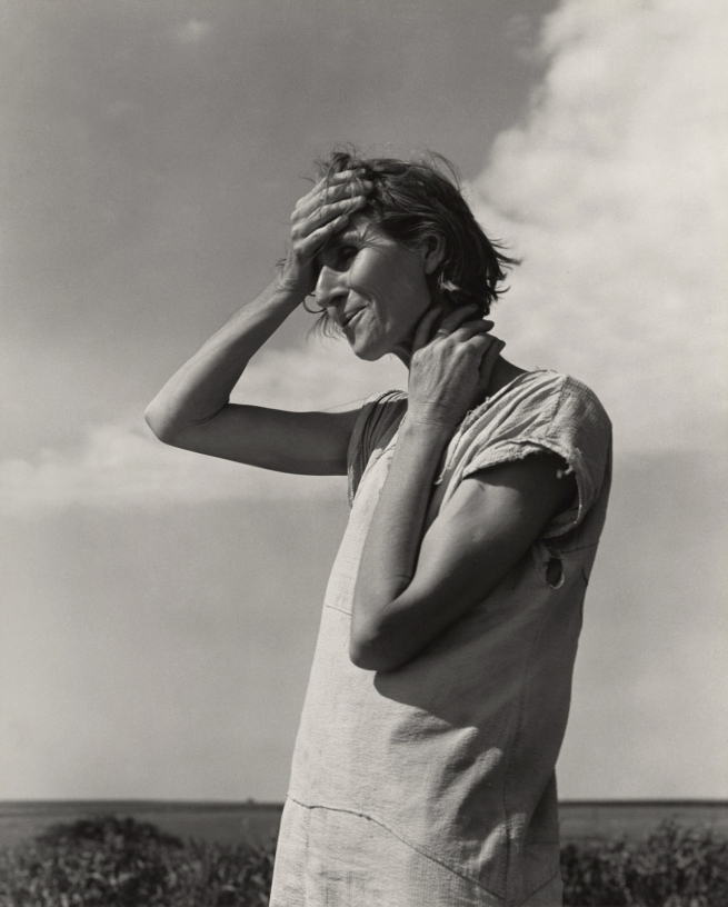 Dorothea Lange (American, 1895-1965) 'Woman of the High Plains, Texas Panhandle' June 1938, printed 1965