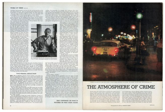 Gordon Parks' photo essay 'The Atmosphere of Crime' in 'Life Magazine', September 9, 1957
