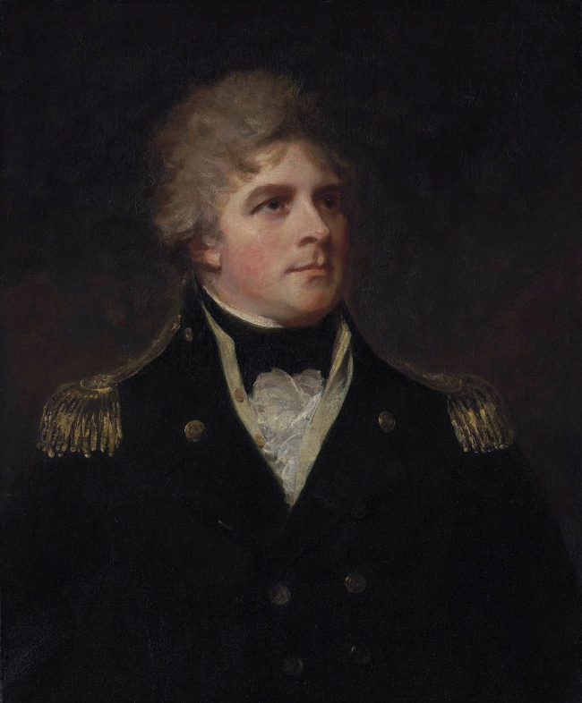 George Romney (English, 1734-1802) 'Admiral Sir John Orde' 18th century