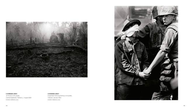 'Women War Photographers - From Lee Miller to Anja Niedringhaus' book pages