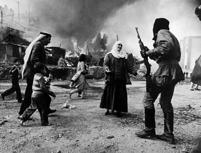 Françoise Demulder (French, 1947-2008) 'Massacre at Quarantaine in Beirut, Lebanon' 1976