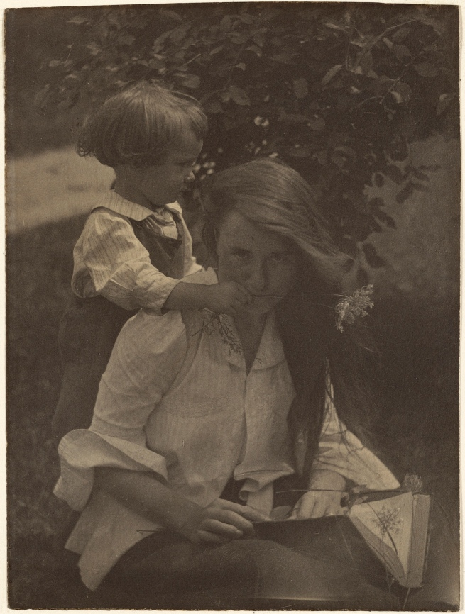 Gertrude Käsebier (American, 1852-1934) 'Gertrude and Charles O'Malley: A Triptych, summer 1903' 1903