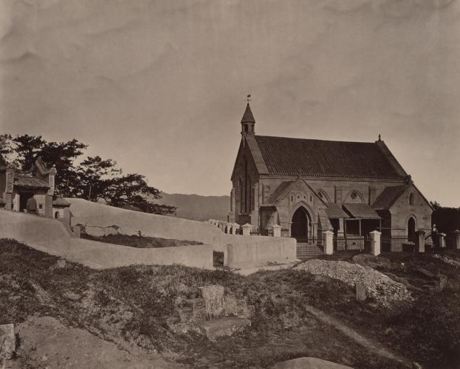 John Thomson (Scottish, 1837-1921) 'Foochow Church' 1870-1871