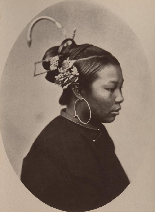 John Thomson (Scottish, 1837-1921) 'Mode of Dressing the Hair' 1870-1871