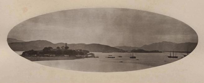 John Thomson (Scottish, 1837-1921) 'Pagoda Island' 1870-1871