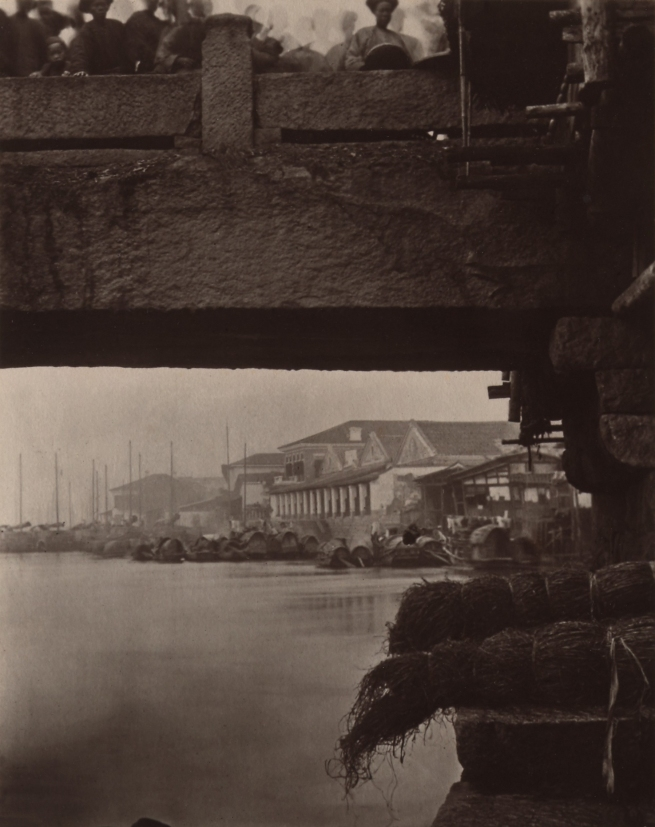 John Thomson (Scottish, 1837-1921) 'Part of Lower Bridge' 1870-1871
