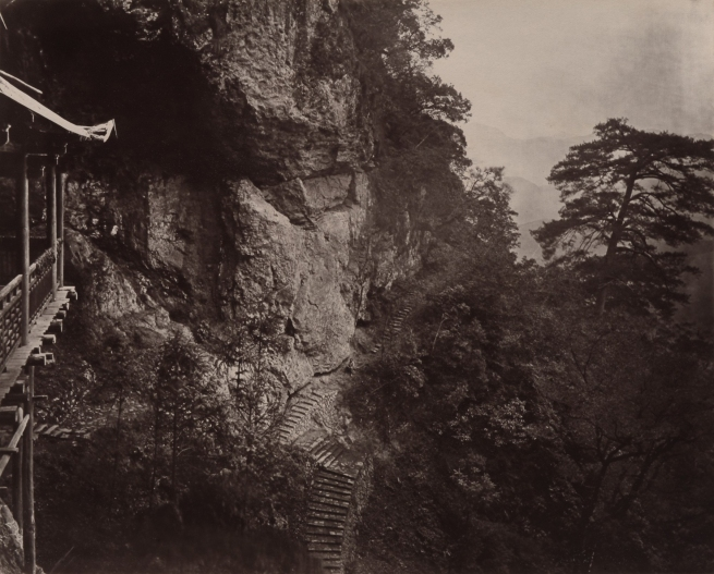 John Thomson (Scottish, 1837-1921) 'Right Shoulder of Cave' 1870-1871