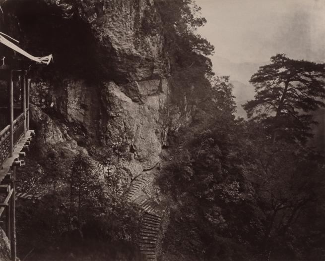 John Thomson (Scottish, 1837-1921) 'Right Shoulder of Cave' 1870-1871