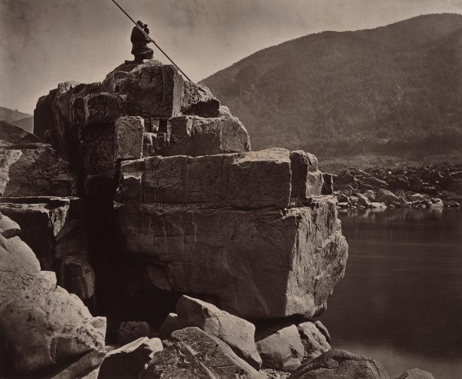 John Thomson (Scottish, 1837-1921) 'Rocks in the Rapids' 1870-1871