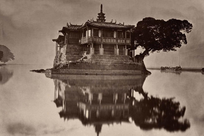 John Thomson (Scottish, 1837-1921) 'The Island Pagoda' 1873