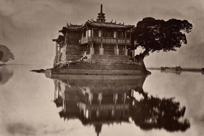 John Thomson (Scottish, 1837-1921) 'The Island Pagoda' 1873