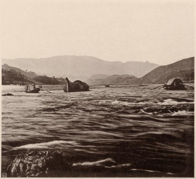 John Thomson (Scottish, 1837-1921) 'Yen Ping Rapid' 1870-1871