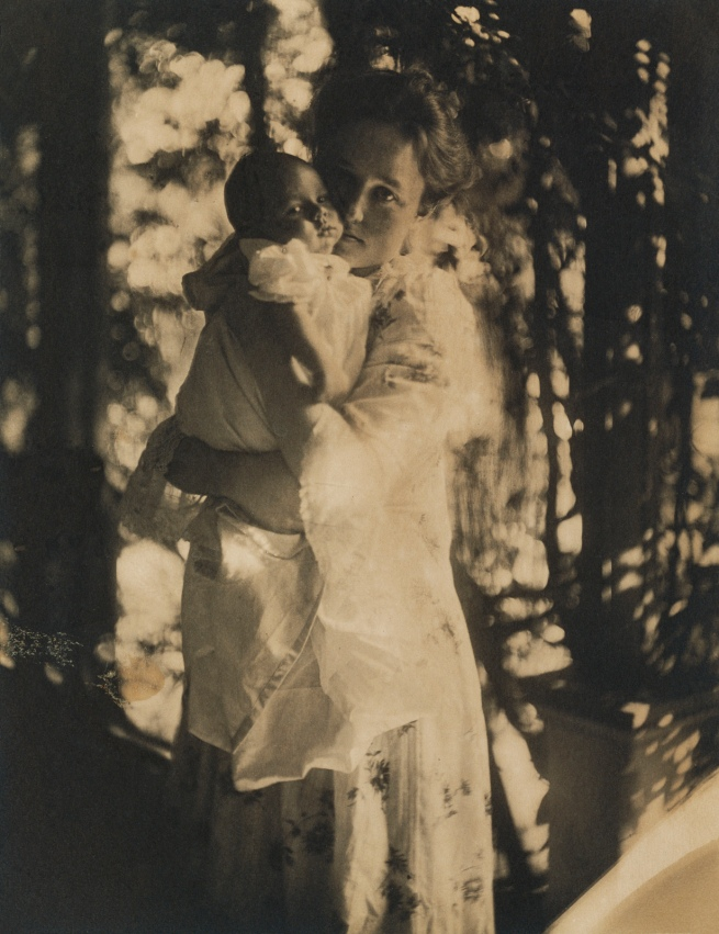 Gertrude Käsebier (American, 1852-1934) '[Gertrude O'Malley and son Charles]' 1900