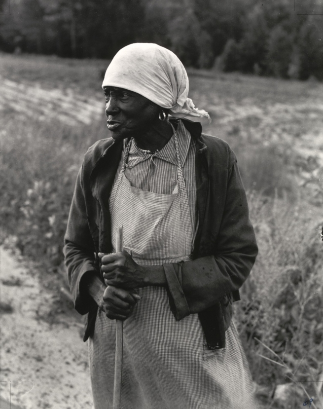 Dorothea Lange (American, 1895-1965) 'Ex-Slave with Long Memory, Alabama' c. 1937, printed 1965