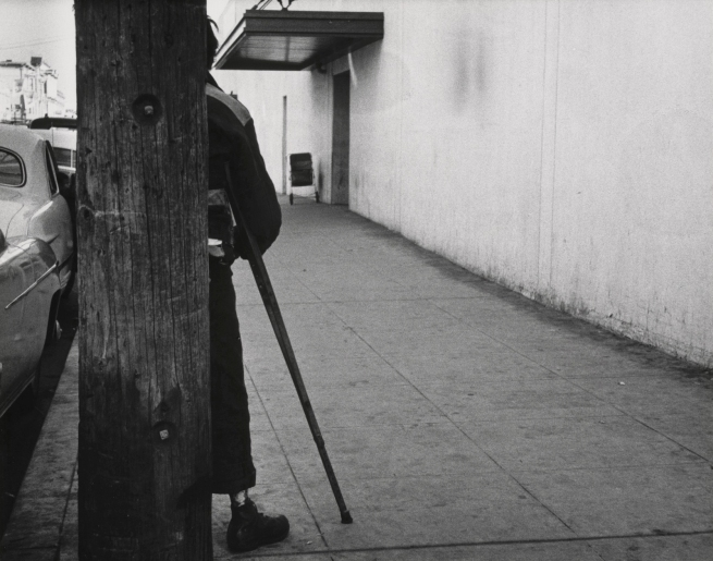 Dorothea Lange (American, 1895-1965) 'Walking Wounded, Oakland' 1954, printed c. 1958
