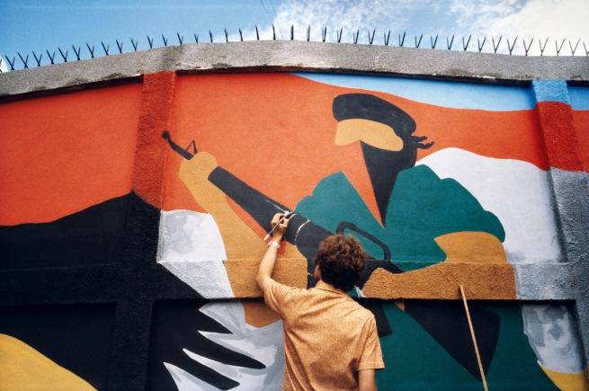Susan Meiselas (American, b. 1948) 'Wall, Managua, Nicaragua' 1979