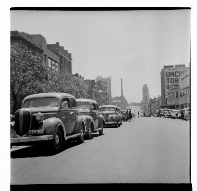 Unknown photographer (Australian) 'Untitled (Russell Street taken from near Collins Street)' 1946-47