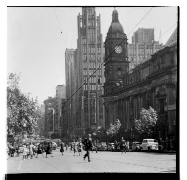 Unknown photographer (Australian) 'Untitled (Collins Street, Melbourne)' 1946-47
