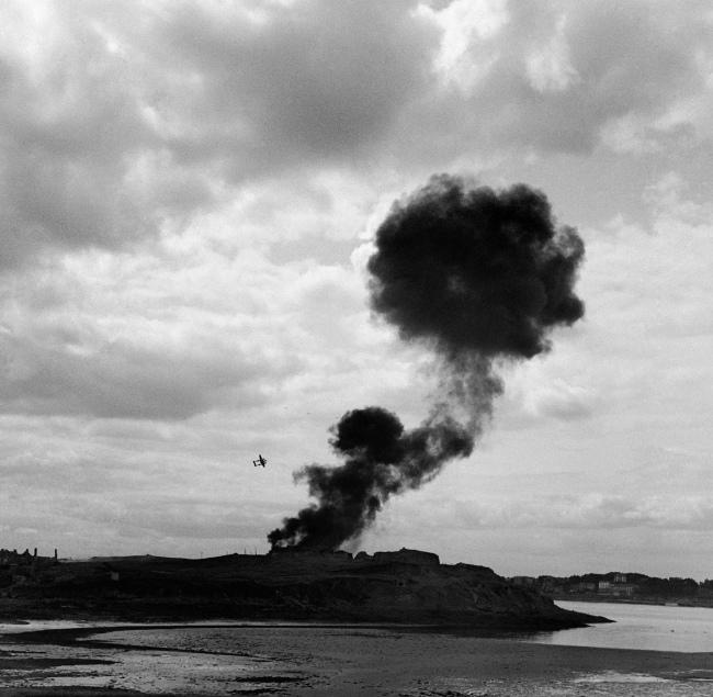 Lee Miller (American, 1907-1977) 'Fall of the citadel' 1944