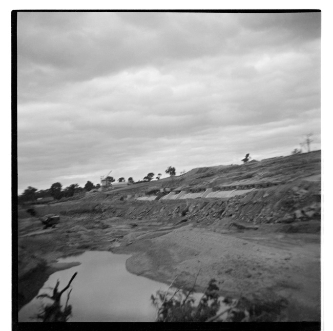 Unknown photographer (Australian) 'Untitled (Mining landscape)' 1946-47