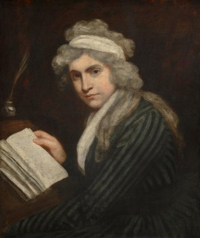 John Opie (British, 1761-1807) 'Mary Wollstonecraft (Mrs William Godwin)' c. 1790-1