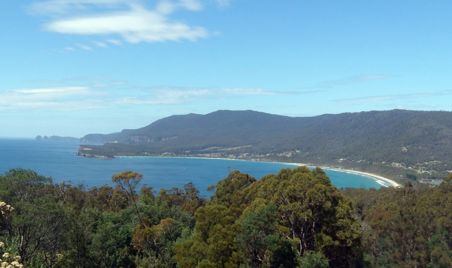 Pirates Bay Lookout, Tasmania 2009