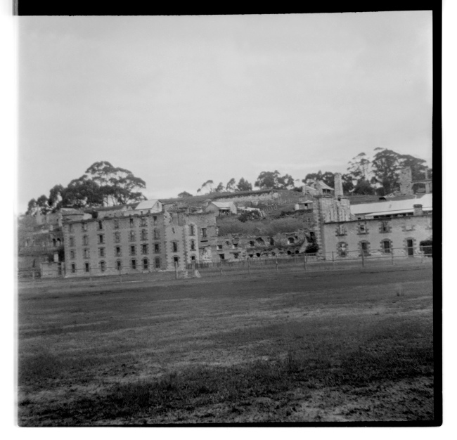 Unknown photographer (Australian) 'Untitled (Port Arthur convict colony ruins, Tasmania)' 1946-47