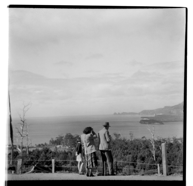 Unknown photographer (Australian) 'Untitled (Pirates Bay Lookout, Tasmania)' 1946-47