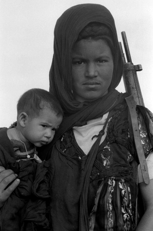 Christine Spengler (French, b. 1945) 'Nouenna, Western Sahara' December 1976