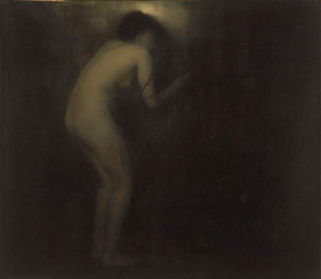Edward Steichen (American, born Luxembourg, 1879-1973) 'La Cigale' (The cicada) Negative 1901; print 1908