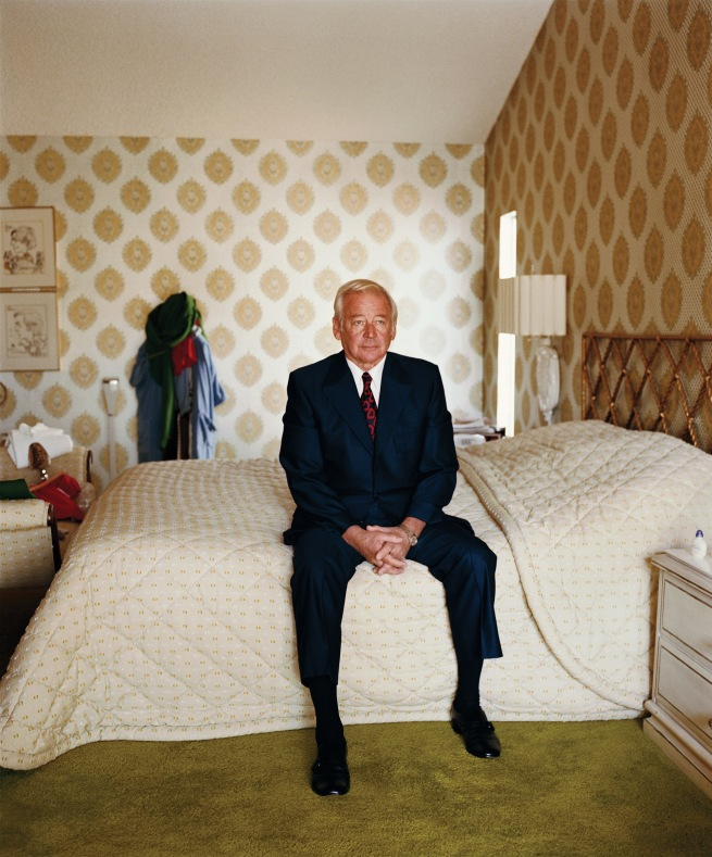 Larry Sultan (American, 1946-2009) 'Dad on Bed' 1984