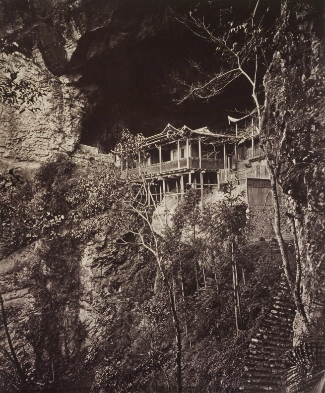 John Thomson (Scottish, 1837-1921) 'Foochow and the River Min (Yuen Fu monastery)' 1870-1871