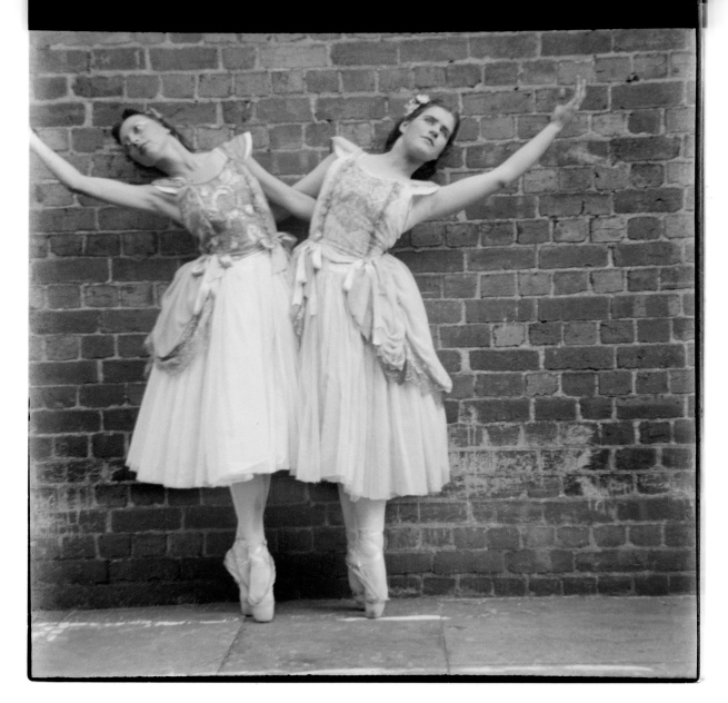Unknown photographer (Australian) 'Untitled (Two ballerinas)' 1946-47