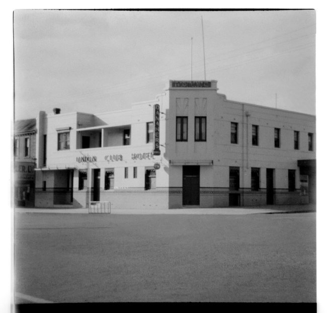 Unknown photographer (Australian) 'Untitled (Union Club Hotel, Colac)' 1946-47