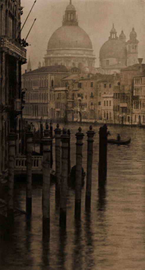 Alvin Langdon Coburn (British, born United States, 1882-1966) 'Grand Canal, Venice' 1908