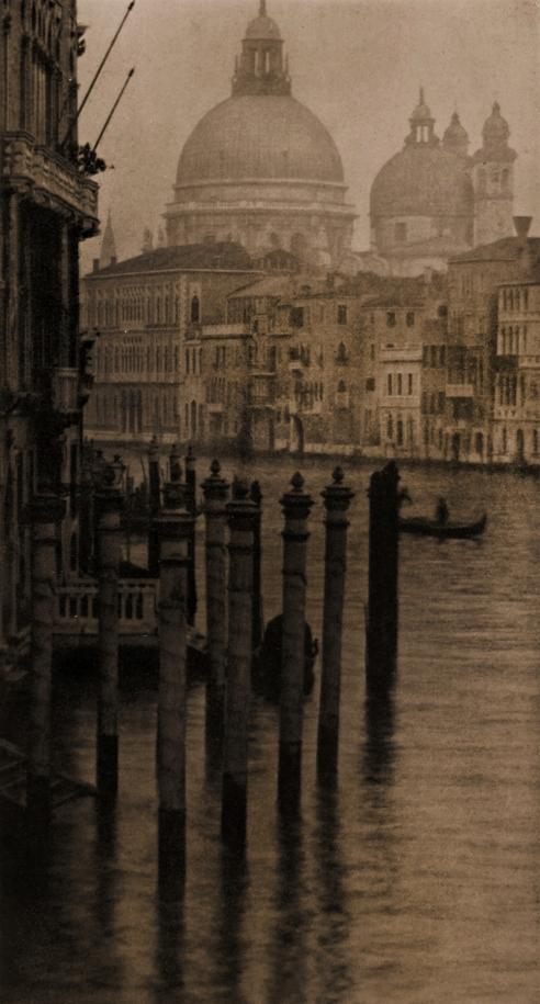 Alvin Langdon Coburn (British, born United States, 1882-1966) 'Grand Canal, Venice' 1908