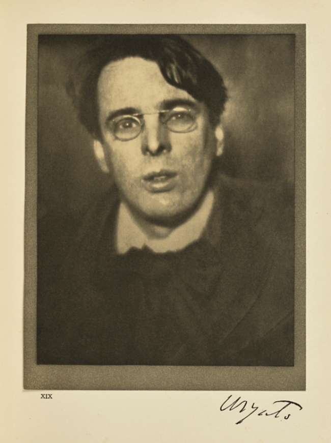 Alvin Langdon Coburn (English, born America 1882-1966) 'W.B. Yeats' 1908