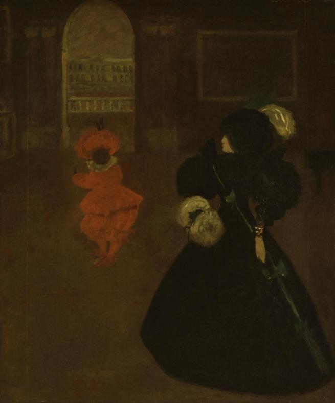 Aubrey Beardsley (British, 1872-1898) 'Caprice' c. 1894