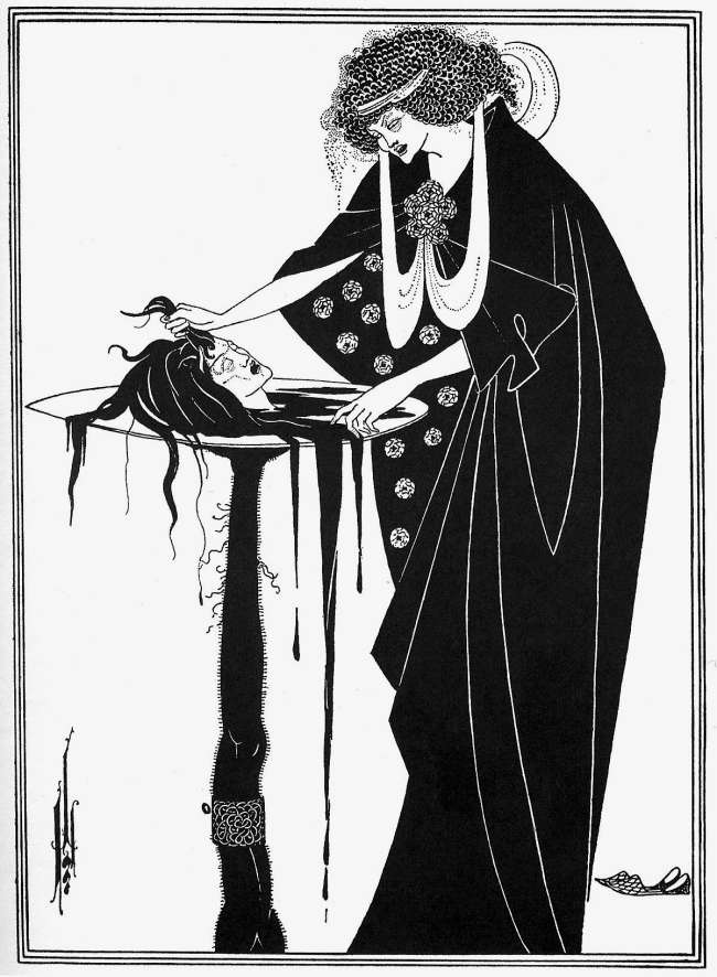 Aubrey Beardsley (British, 1872-1898) 'The Dancer's Reward' 1893