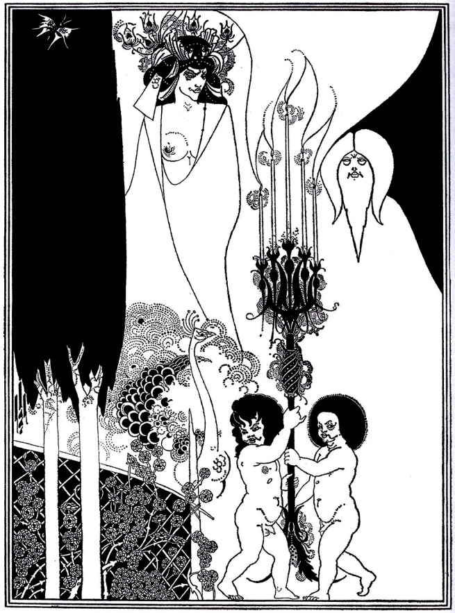 Aubrey Beardsley (British, 1872-1898) 'The Eyes of Herod' 1893
