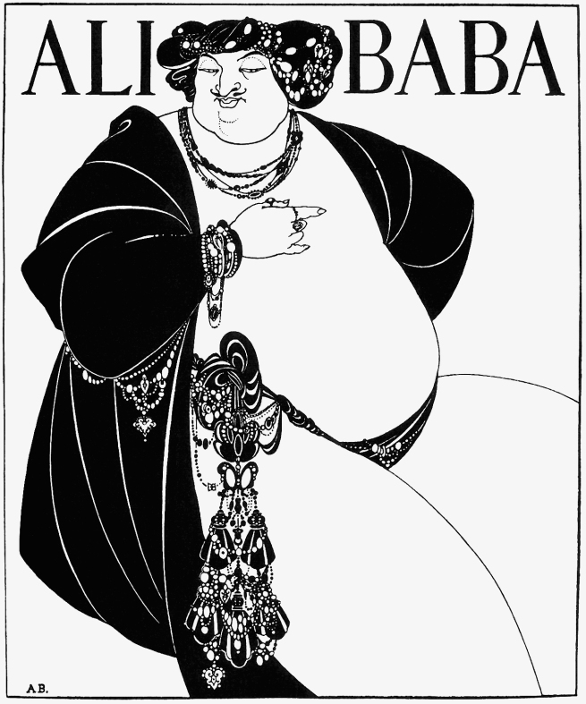Aubrey Beardsley (British, 1872-1898) 'Ali Baba' 1897