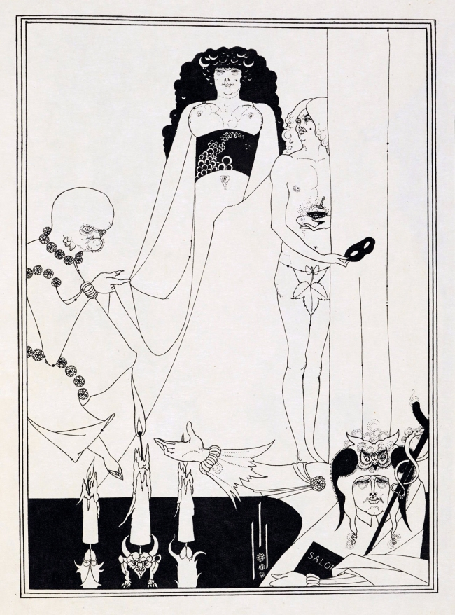 Aubrey Beardsley (British, 1872-1898) 'Enter Herodias' 1893