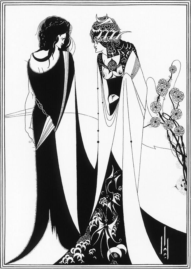 Aubrey Beardsley (British, 1872-1898) 'John and Salome' 1893