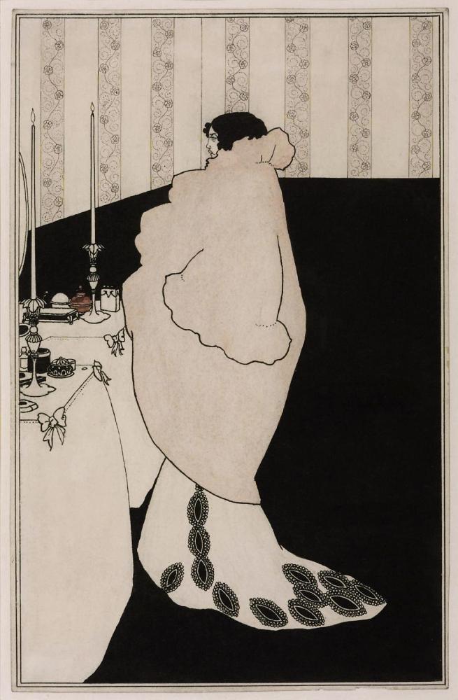 Aubrey Beardsley (British, 1872-1898) 'La Dame aux Camélias' 1894