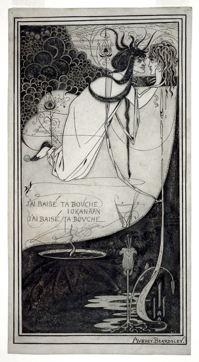 Aubrey Beardsley (British, 1872-1898) 'J'ai baisé ta bouche Iokanaan' 1892-3