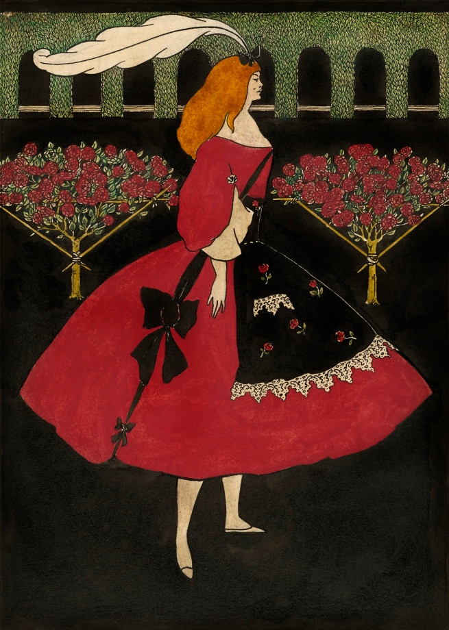 Aubrey Beardsley (British, 1872-1898) 'The Slippers of Cinderella' 1894